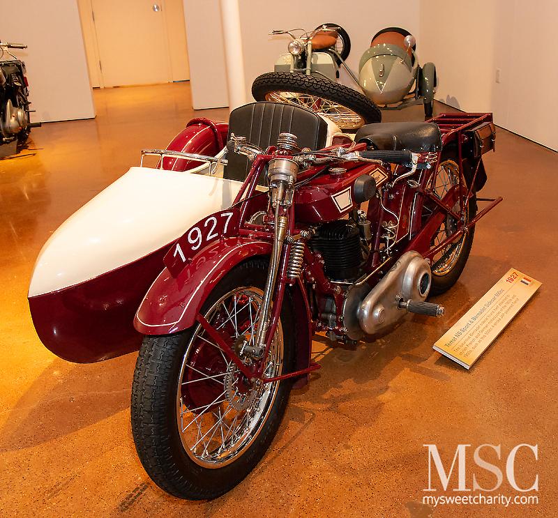 1927 Terrot NS Sport and Bernadet Sidecar 500cc