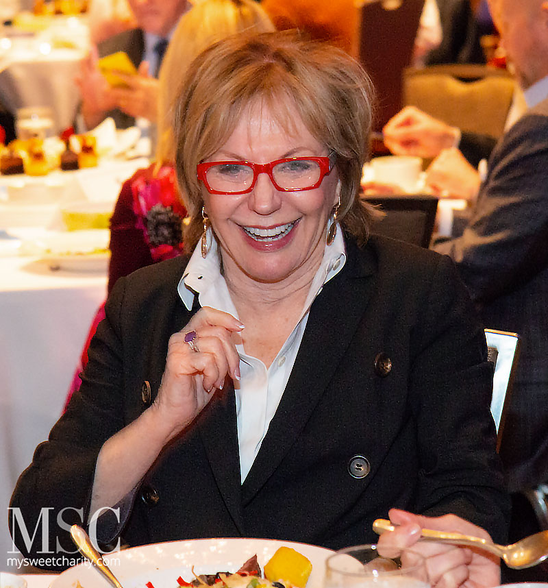 Soup's On! Guests Supped Up And Heard Regina Calcattera's ... Nelda Cain