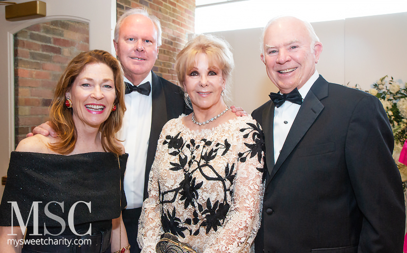 Jeanne Cox, Berry Cox, Annette Simmons, Jerry Fronterhouse