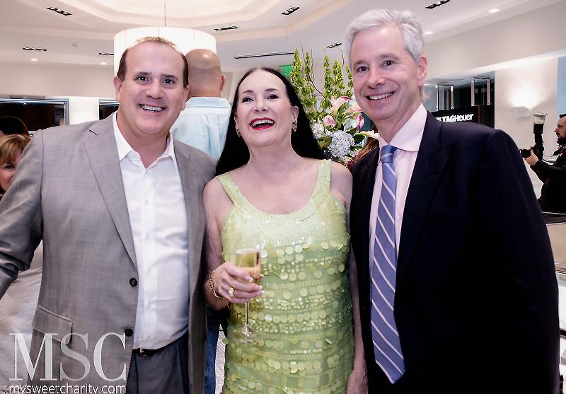 Boyd Messmann, Jacque Wynne, Lawrence Bock