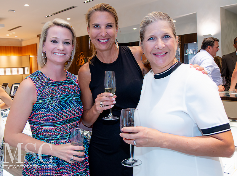 Cynthia Everett, Diana Hamilton and Kristi Bare