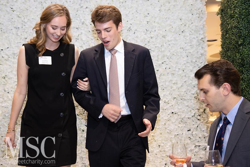 Caroline Downing, Alec Dewar, James Olson